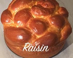 Round braid with Golden Raisins
